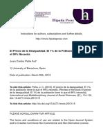 Dialnet-ElPrecioDeLaDesigualdad-4833079