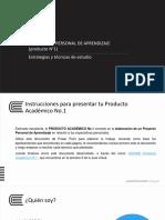 Enunciado y Plantilla para realizar Producto Académico No. 1 (1).pptx
