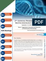 PharmaBiotechCongress 2019 Brochure