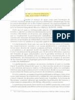 Lectura No. 3 - LA IMPORTANCIA DE LA PARTICIPACIÓN EN LA GESTIÓN DEL RECURSO HIDRICO .PDF