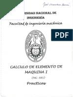 Calculo de Elementos de Máquina I - Teoria y Examenes UNI