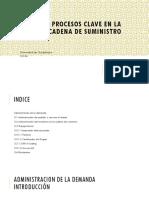 Unidad 3 - Procesos Clave en La Cadena de Suministro