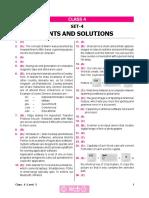Nco Level2 Solution Class 4 Set 4