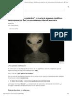 Qué Es El _zoológico Galáctico_, La Teoría de Algunos Científicos Para Explicar Por Qué No Encontramos Vida Extraterrestre - BBC News Mundo
