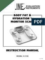 Manual Body scan