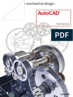 Autocad Mechanical Brochure EDS Technologies Autocad Dealer in India