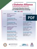 AzDA - Free Diabetes Screenings & Education