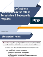 Slide Deck the Role of Terbutaline and Budesonide