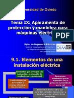 Tema9_Aparamenta de protección y maniobra para máquinas eléctricas