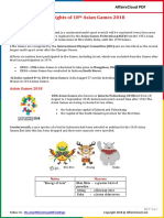 Highlights of 18th Asian Games 2018 by AffairsCloud.pdf