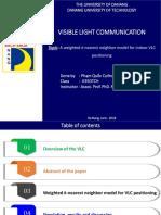 Hệ thống thông tin quang VLC