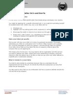 Application Letter Apprenticeship