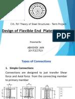 2017CEZ7521 - Design of Flexible End Plate Connection.pptx