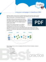 5 Steps to Running Your Campaigns in Sales Force CRM