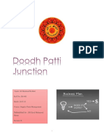 Doodh Patti Junction Business Plan + lean canvas