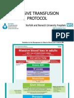 Massive Transfusion  British