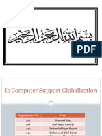 Is Computer Support Globalization2