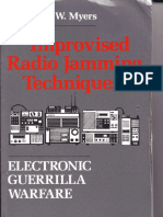Lawrence W. Myers - Improvised Radio Jamming Techniques_ Electronic Guerrilla Warfare (1989, Paladin Press)