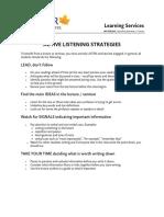 Active Listening Strategies
