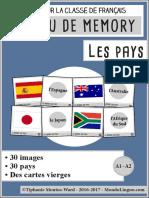 MondoLinguo Memory Pays