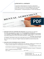 Free Rental Agreement PDF