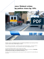 Crime Figures in England and Wales