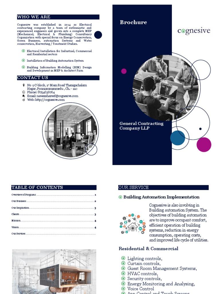 Brochure - Automation   Building Automation   Automation