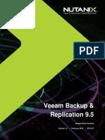 Nutanix Veeam Backup Replication Best Practices