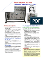 Pressure Temperature Flow Trainer