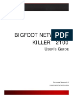 975101 an 01 en Bigfoot Killer 2100 Netzwerkkarte