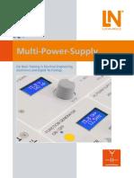 Multi Power Supply Flyer