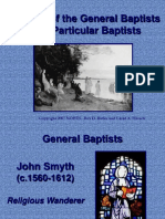 Unit 1c.rise of General and Particular Baptists