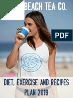 Bondi Beach Tea Co. Diet, Exercise and Recipes Plan Jan 2019.pdf