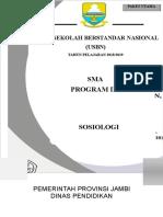 Cover Soal Usbn Paket Utama SMA