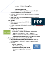 literacy action plan guidance document