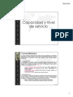 Capacidad y servicio