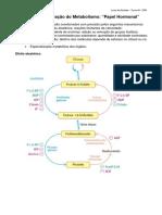 Bioquímica - Regulação do metabolismo