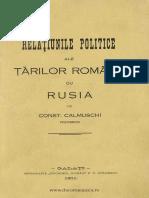 Relaţiunile politice ale Ţărilor Române cu Rusia.pdf