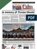 Morning Calm Korea Weekly, October 29, 2010