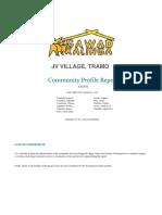 Community Profile Report - JP.docx