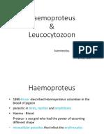 Haemoproteus and Leucocytozoon.pptx