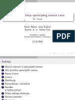 LINUX 01 Uvodno Predavanje