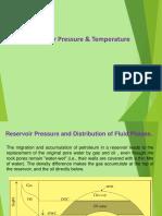 Lecture-05 Reservoir Pressure&Temperature