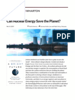 Can Muclear Energy Save the Planet