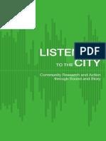 Listening to the City - Handbook