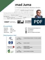 Mohammad Juma - Solutions Architect & Presales Consultant - Mar 2019