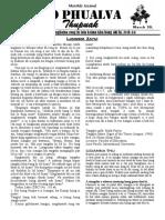 Zo Phualva Thupuak - Volume 09, Issue 01