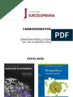 Tema 1.2 Carbohidratos