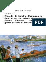 Simetría Externa Dos Minerais