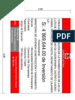 Cartel de Obra Choropampa PDF